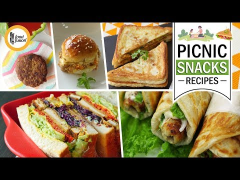 Picnic Snacks Recipes By Food Fusion
