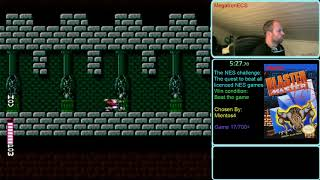 NES Challenge: The quest to beat all licenced NES games. Game #17: Blaster Master(part 2)