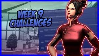 SEASON 9, Week 9 *LEAKED* Challenges - Fortnite Battle Royale