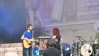 Revolverheld & Carlotta Truman - Halt Dich An Mir Fest am 06.09.2014 in Papenburg