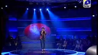 Fizza Jawed Sing song for Gala Round Pakistan Idol episode 11