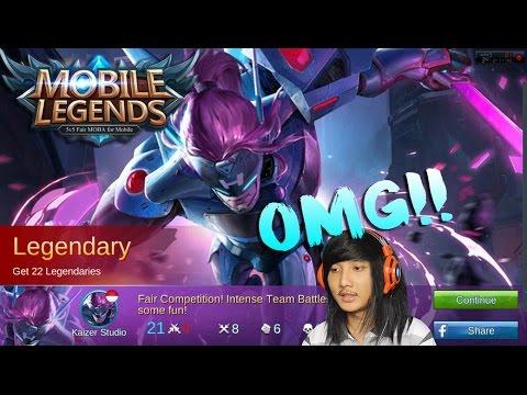 Samurai Saber!! Kocak Wkwkwk | Mobile Legends Indonesia #12