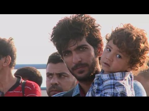 Greece: Hellenic Coast Guard rescues migrants off coast of Kos