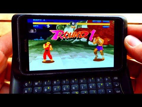 Test Game Street Fighter On Nokia Symbian Version | NOKIA E7