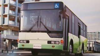 2010(平成22年)三菱ふそう エアロスター MITSUBISHI FUSO AeroStar City Bus