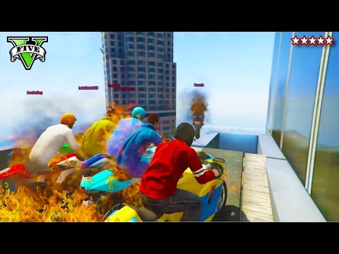 GTA 5 Epic Races  w/ YOUTUBERS LiveStream! - Awesome GTA Races w/ Epic YOUTUBERS - GTA Funny Moments