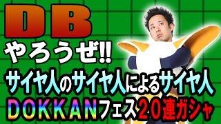 ベジータ&ラディッツが『DB』に挑戦! 今回はサイヤ人DOKKANフェス20連...