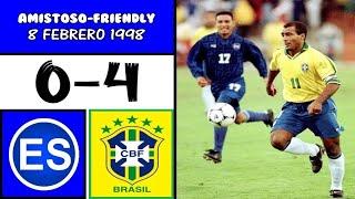 El Salvador vs Brasil : 2.8.1998 : GC/Copa Oro 1998