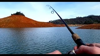 Fishing Mount - Bass Fishing Lake Shasta 2014 with Velocity Clip