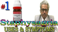 Medicine Staphysagria Homeopathic