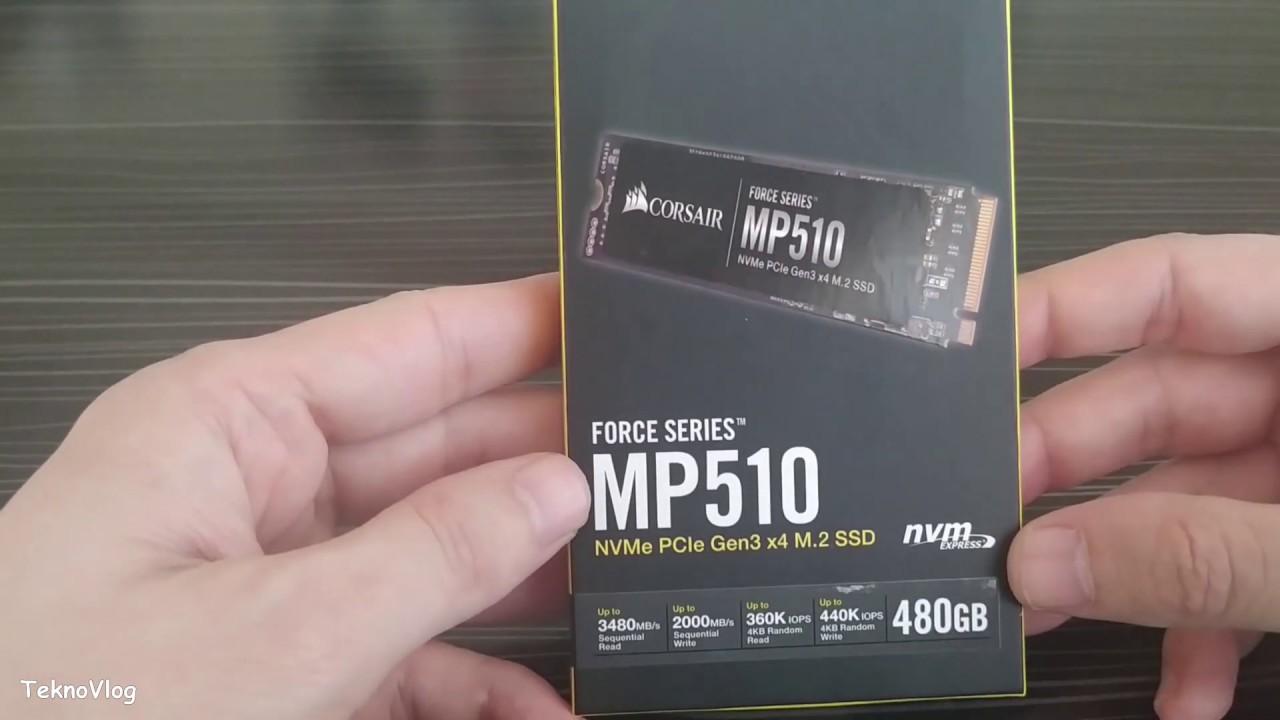 BİLGİSAYARINA M2 SSD TAK FARKI YAŞA   CORSAIR FORCE MP510 480 GB   NASIL TAKILIR VE BİÇİMLENDİRME