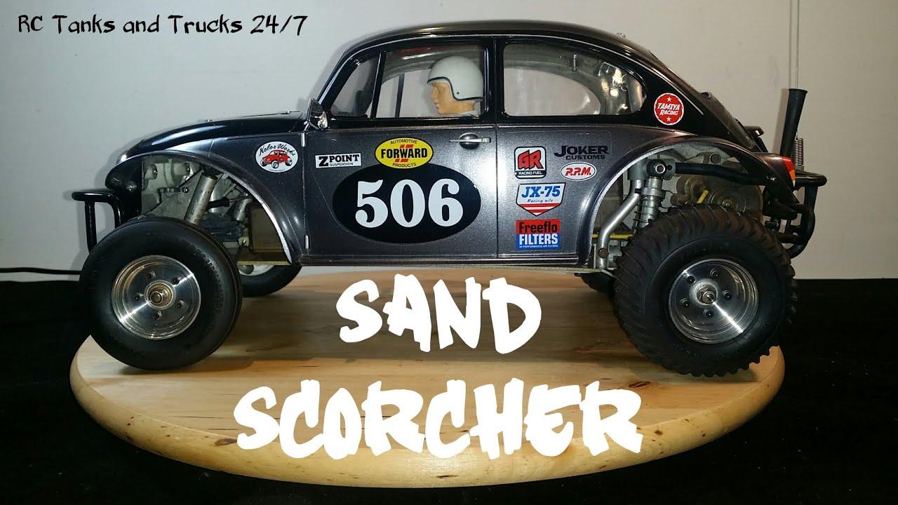 vintage tamiya sand scorcher racing buggy original rc. Black Bedroom Furniture Sets. Home Design Ideas