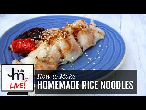 LIVE Replay - Homemade Rice Noodles