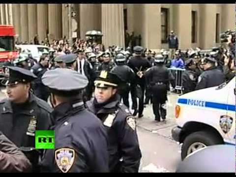 OWS video: NYPD arrest Philly police retired captain Raymond Lewis