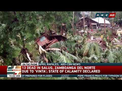 2 Zambo del Norte towns placed under state of calamity
