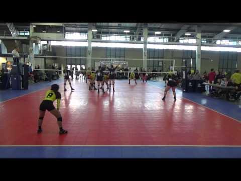 Skyline Volleyball 16 Molten Royal #15 Setter VS 16 Club Synergy OKC Full Game