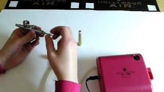 Hollywood Air Airbrush Makeup Troubleshooting the Airbrush Regulator and Tail End Thumbnail