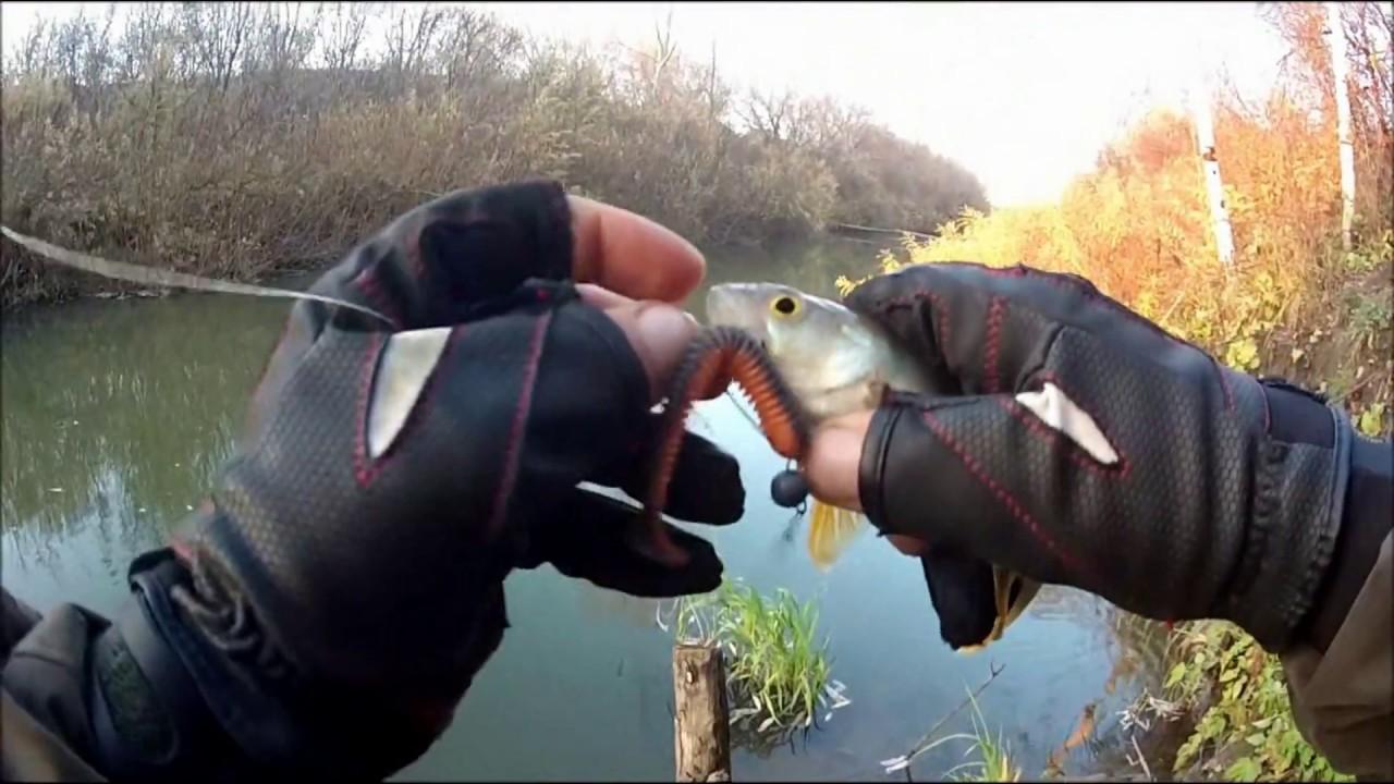 ловля щуки на джиг осенью видео на малых реках видео
