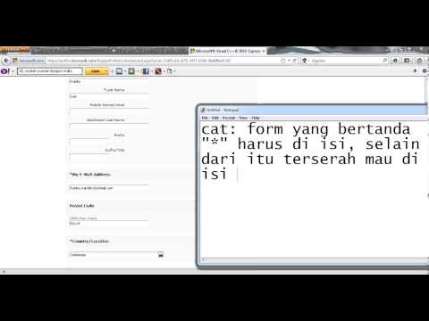 Cara Registrasi Visual Basic 2010 Express