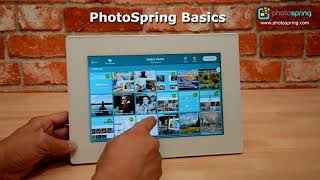 PhotoSpring Basic Navigation and Screen Flow