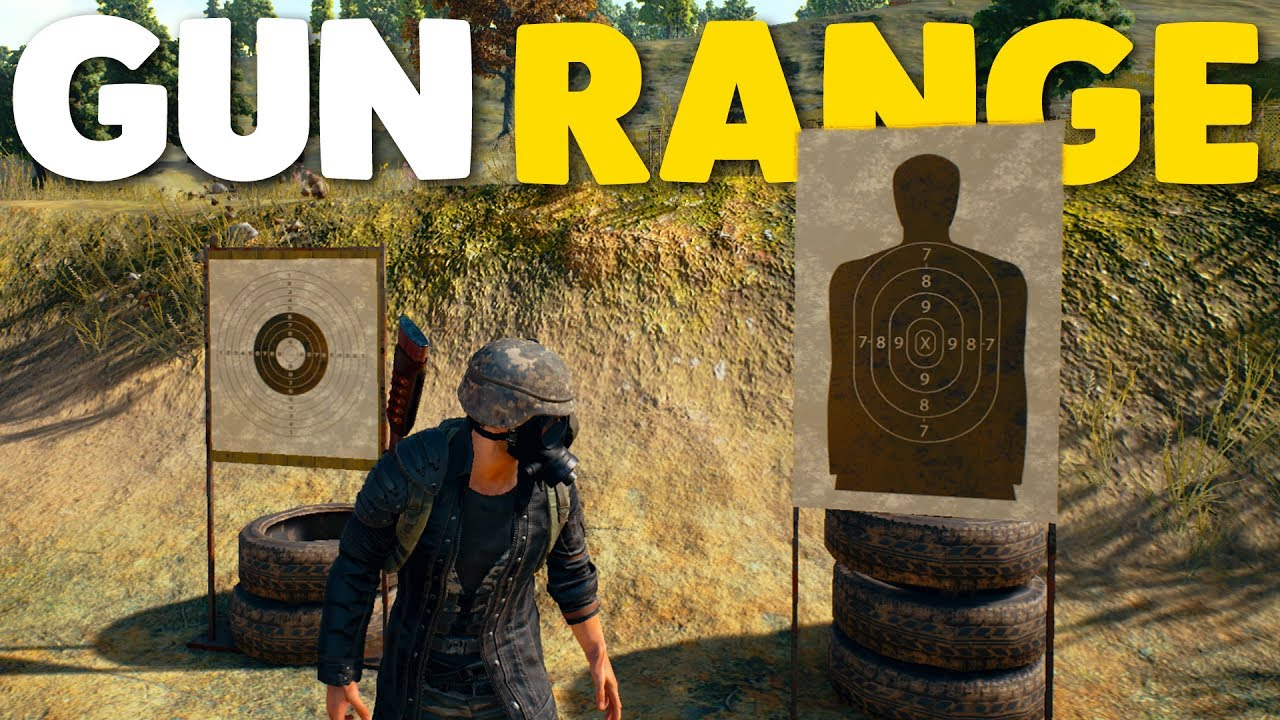 How To Survive Shooting Range Pubg Battlegrounds Youtube