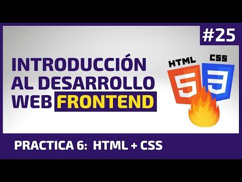 Ejercicio HTML y CSS - [Intro. Desarrollo Web Frontend]