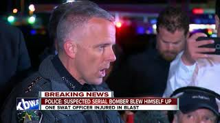 Police: Austin bombing suspect blew himself up