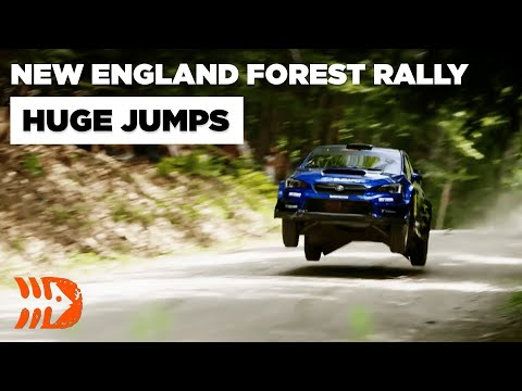 The Flying Stages Of New England Forest Rally 2021