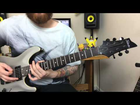 Top 5 Drop C Metal Riffs beginners guitar lessons Part 2