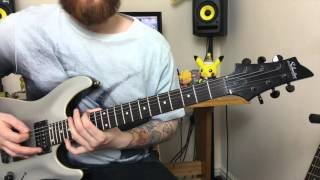 Top 5 Drop C Metal Riffs beginners guitar lessons Part 2