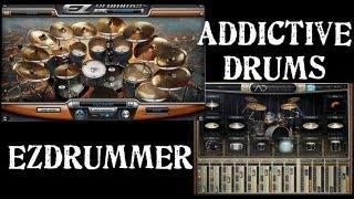 Addictive Drums + EZDrummer = Sonido BRUTAL!!! :)