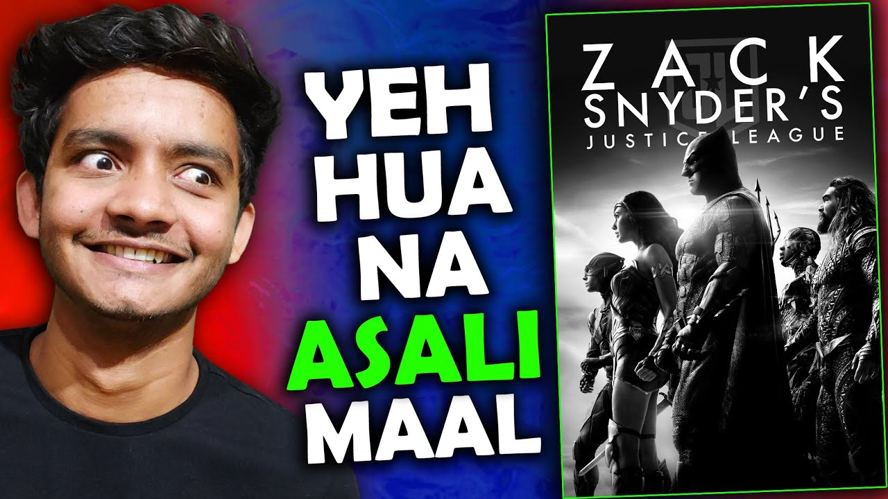 Download Justice league Snyder cut review: yahi to chaiye tha 🔥🔥