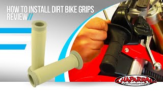 How to Install Dirt Bike Grips Review