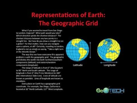 Earth Representations (Geographic Grid, Mapping, Projections)