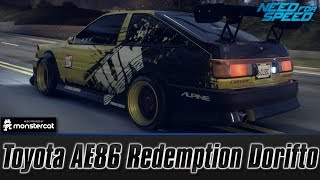 Need For Speed 2015: Toyota AE86 Drift Build (Redemption Dorifto with Takumi)