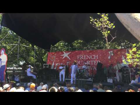 Kermit Ruffins at French Quarter Fest 2017 - New Orleans Ladies from YouTube · Duration:  4 minutes 22 seconds