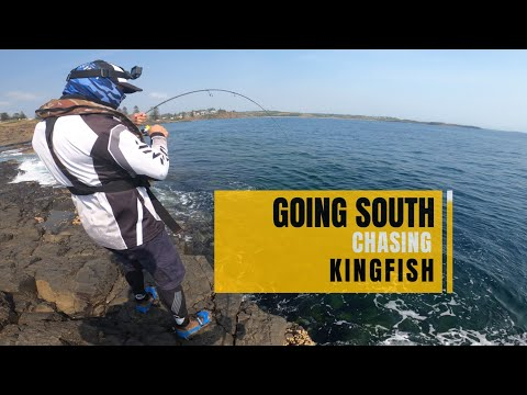 Rock Fishing Explained - Going South Chasing Kingfish