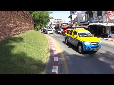 How to ride bicycle in Chiang mai Thailand Part 1