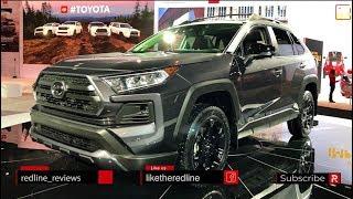 2020 Toyota RAV4 TRD – Redline: First Look – 2019 Chicago Auto Show