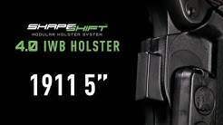Best IWB Holster for 1911 Handguns