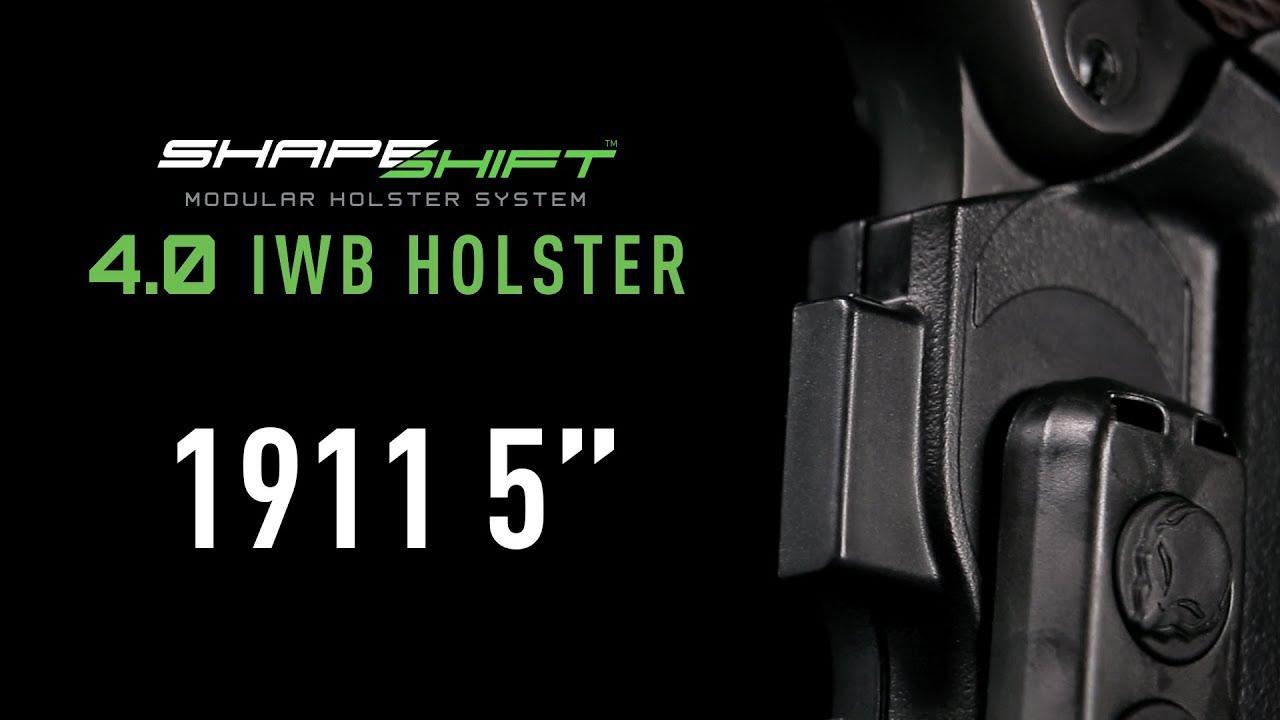 Best IWB Holster for 1911 Handguns