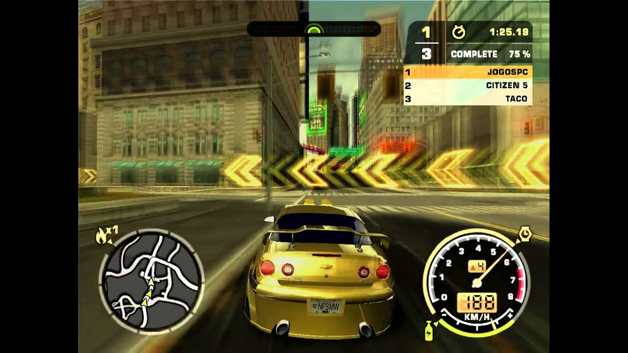 Gameplay Need For Speed Most Wanted Black Edition Ps2 720p