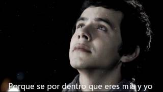 Repeat youtube video David Archuleta - you are my song (Spanish)