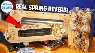 Anasounds Element Real Spring Reverb Pedal (THE BEST!)