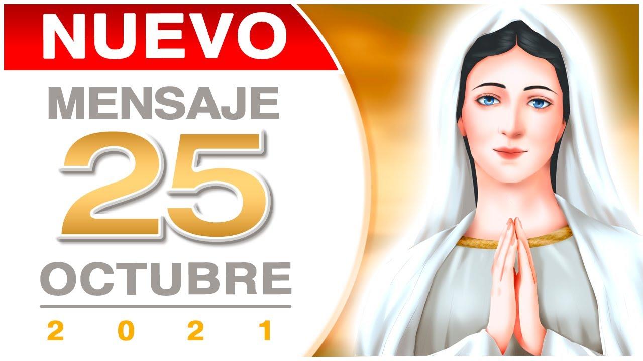 Download NUEVO MENSAJE de la Virgen María de Medjugorje (25/OCTUBRE/2021)