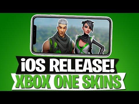 FORTNITE FÜR iOS | XBOX ONE SKINS | FORTNITE BATTLE ROYALE Deutsch