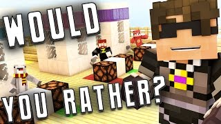 FIGHT A BUNCH OF KIDS OR MARRY A PUFFERFISH?! | Minecraft Would You Rather?