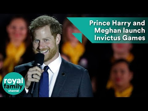 Harry and Meghan attend Invictus Games ceremony