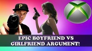 EPIC Xbox Argument Boyfriend vs Girlfriend