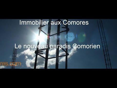 immobilier aux Comores Fabrication des matériaux des Résidences Hamboda